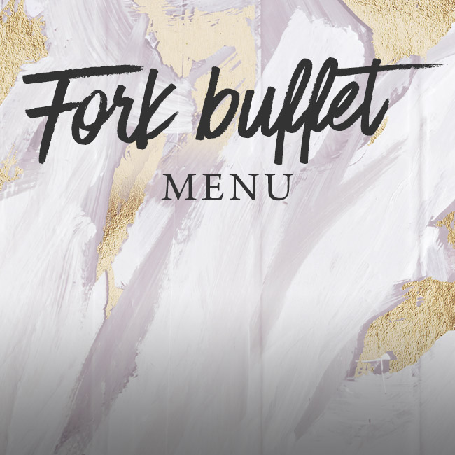 Fork buffet menu at The White Hart