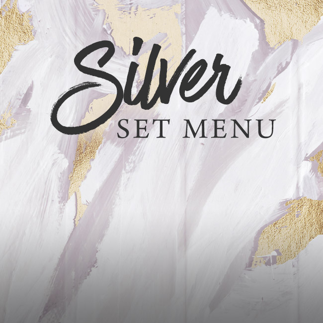 Silver set menu at The White Hart
