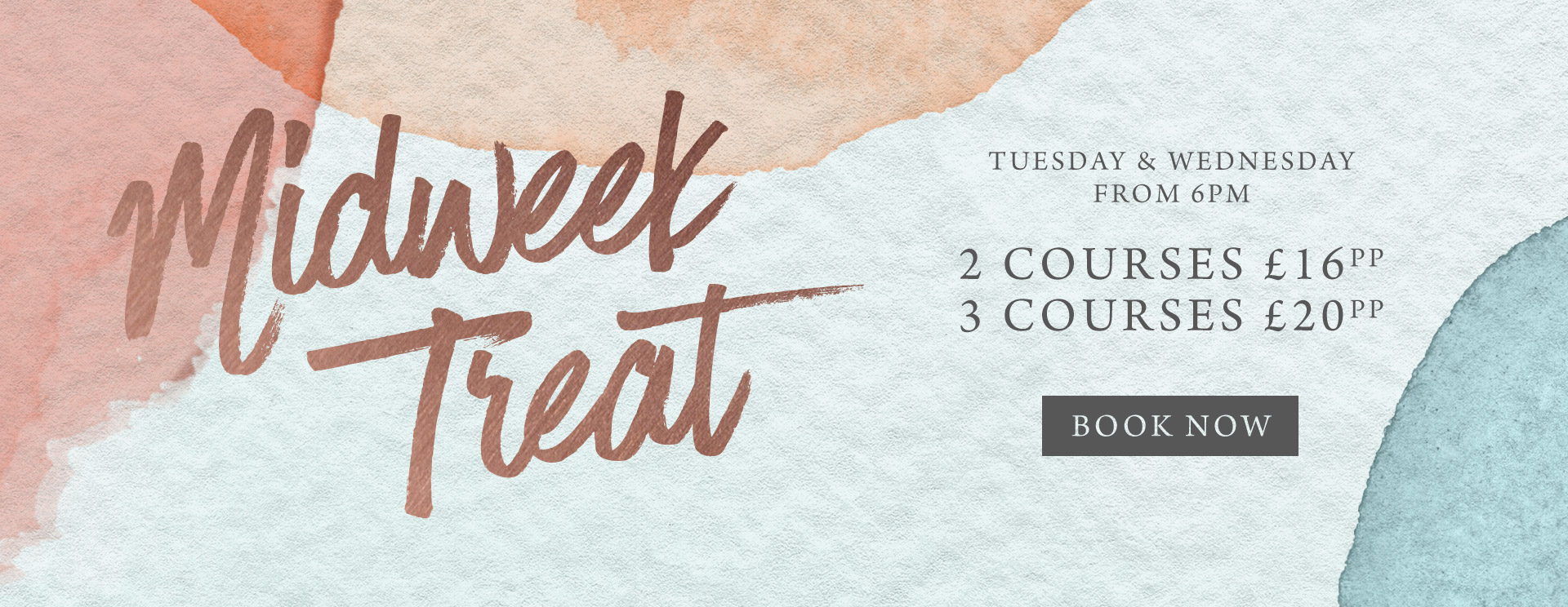 Midweek treat at The White Hart - Book now